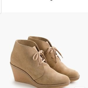 J. Crew McAlister Suede Wedge 10